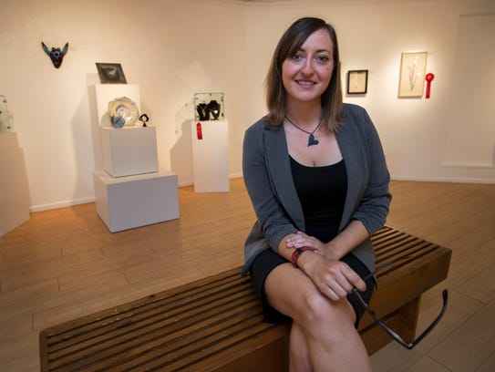 Julie Gerhard is the director of the Cape Coral Arts