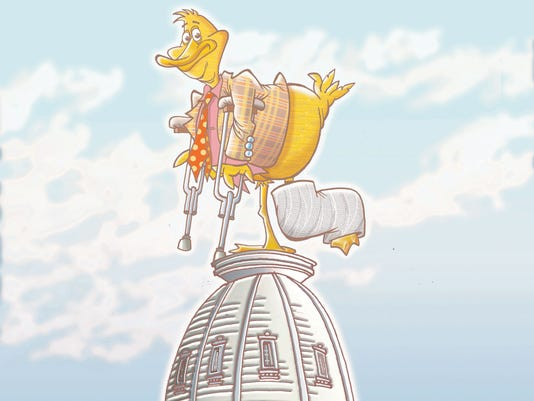 lame duck definition