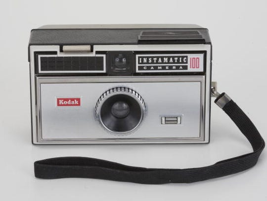 HEALDSBURG, CA - 2009: An American-made Kodak Hawkeye