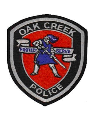 Oak Creek Police Department badge