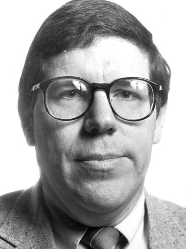 A 1988 photo of then state Rep. Bob Dvorksy, D-Coralville.