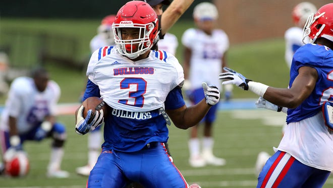 Louisiana Tech running back Jarred Craft is expected to be part of a committee at running back this year.