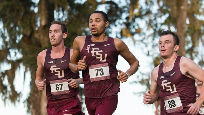Faith and family guided Florida State cross country runner Michael Hall into the record books.