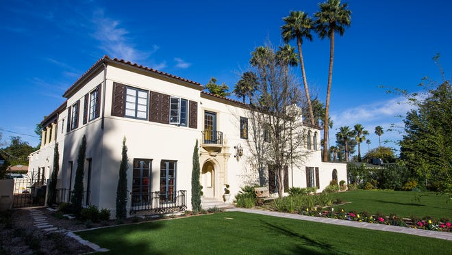The Phoenix home of Michael Brekke and Terry Gadair Friday, February 27, 2015. It will be part of an annual home tour on March 29th.