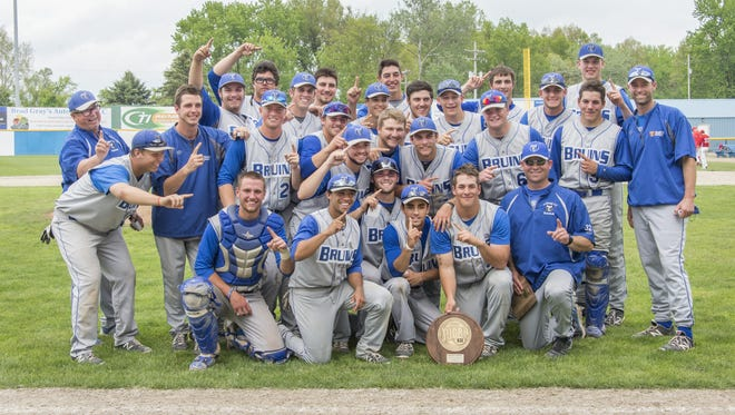 The Kellogg Community College baseball team finished with the ninth-best GPA in the nation during the 2014-15 academic year.
