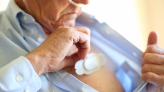 This new wearable tech from Philips helps doctors monitor COPD patients remotely.