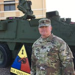 Jeffrey about to say goodbye to latest Army family at Fort Bliss