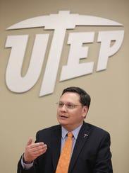 Gary Edens, UTEP vice president of student affairs