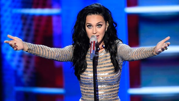 Katy Perry inspires athletes to 'Rise' up at the Rio