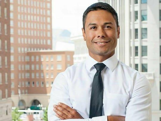 District 8 candidate Adolfo Lopez
