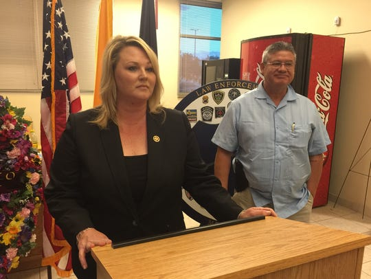 Doña Ana County Sheriff's Spokesperson Kelly Jameson,