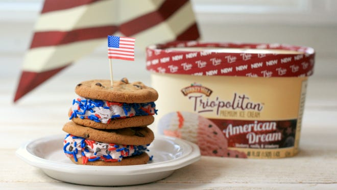 Turkey Hill Dairy's American Dream Ice Cream Sandwich.
