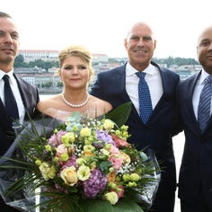 New Crystal Cruises river ship, Crystal Ravel, christened on Danube
