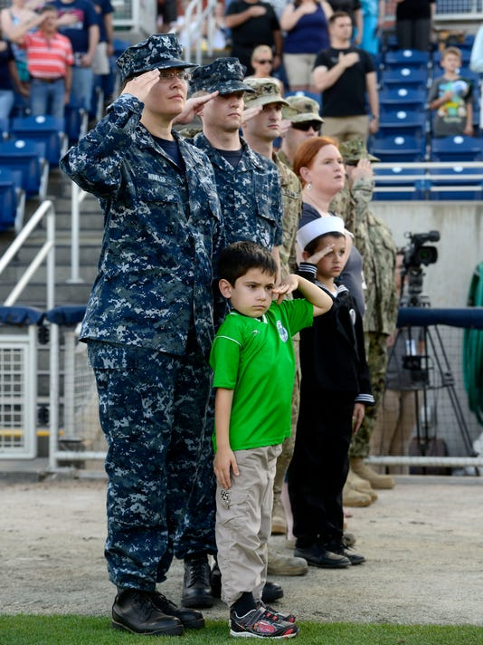 Pensacola honors Navy Reservists while celebrating 100 years of the U.S. Navy Reserve
