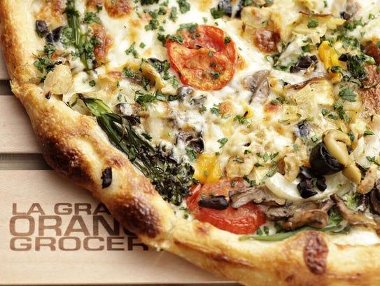 The Rocket Man pizza from La Grande Orange.