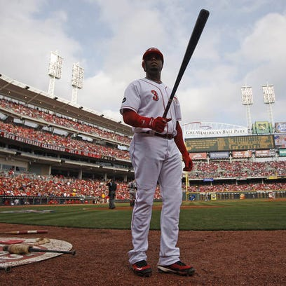 Cincinnati native Ken Griffey Jr. played in his final Opening Day game in Cincinnati as a Red against the Diamondbacks on March 31, 2008.