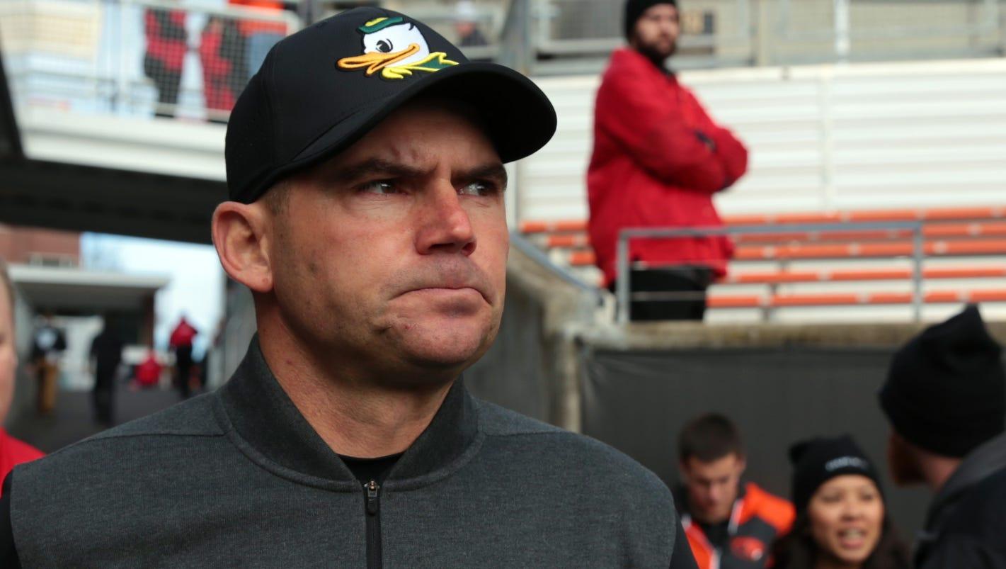 Mark Helfrich, former Oregon coach, joining Bears as offensive coordinator