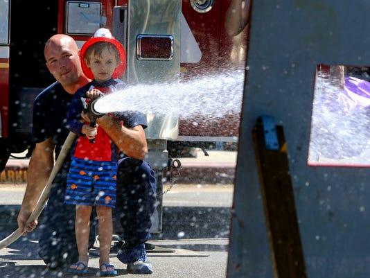 Beach Firefighter Challenge 1