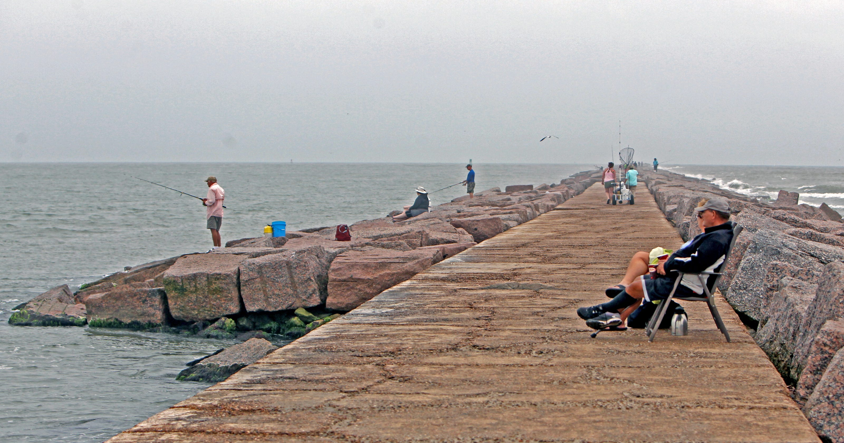 Top Spots For Pier Jetty Fishing From Corpus Christi To Rockport