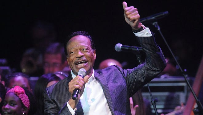 Edwin Hawkins appears at the Apollo Theater Spring Gala and 80th Anniversary Celebration in New York on June 10, 2014. Hawkins, the gospel star best known for the crossover hit 'Oh Happy Day,' died Jan. 15, 2018, at his home in Pleasanton, Calif., at age 74.