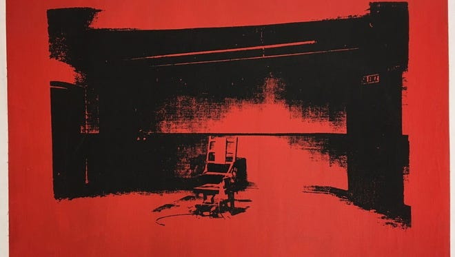 Alice Cooper has found an Andy Warhol print, 'Little Electric Chair,' that he forgot he owned.
