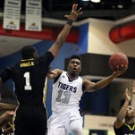Jackson State guard Javeres Brent  drained seven 3s in a victory against Grambling on Saturday.