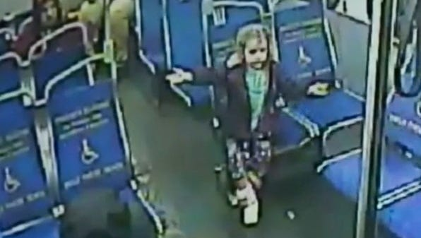 A raincoat-clad Philadelphia 4-year-old girl in search of a slushie slipped out the back door of her home at 3 a.m. on March 27, 2015, city authorities said, and began wandering the neighborhood in a heavy rain, on a quest for the frozen treat.