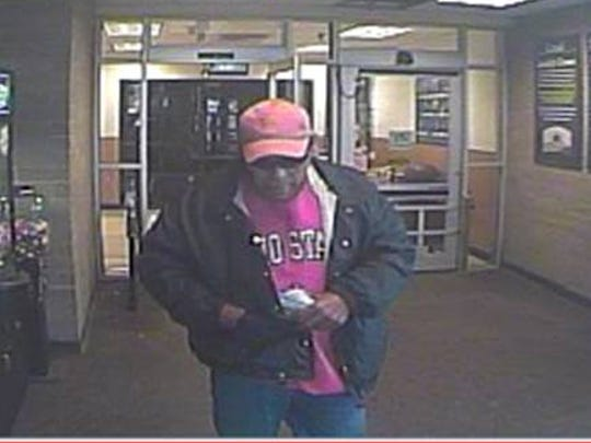 This man is suspected of robbing the Lafayette Bank