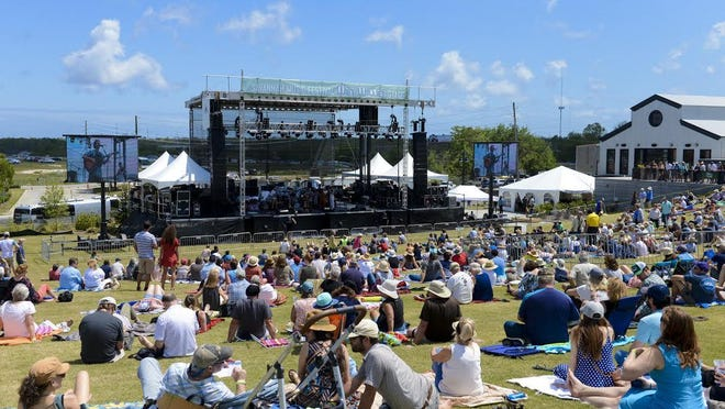 A file photo of the Savannah Music Festival Finale in 2018, which utilized the newly renovated space at Trustees' Garden. SMF will return to the venue for their 2021 festival with social-distance rules and COVID-19 procedures in place.