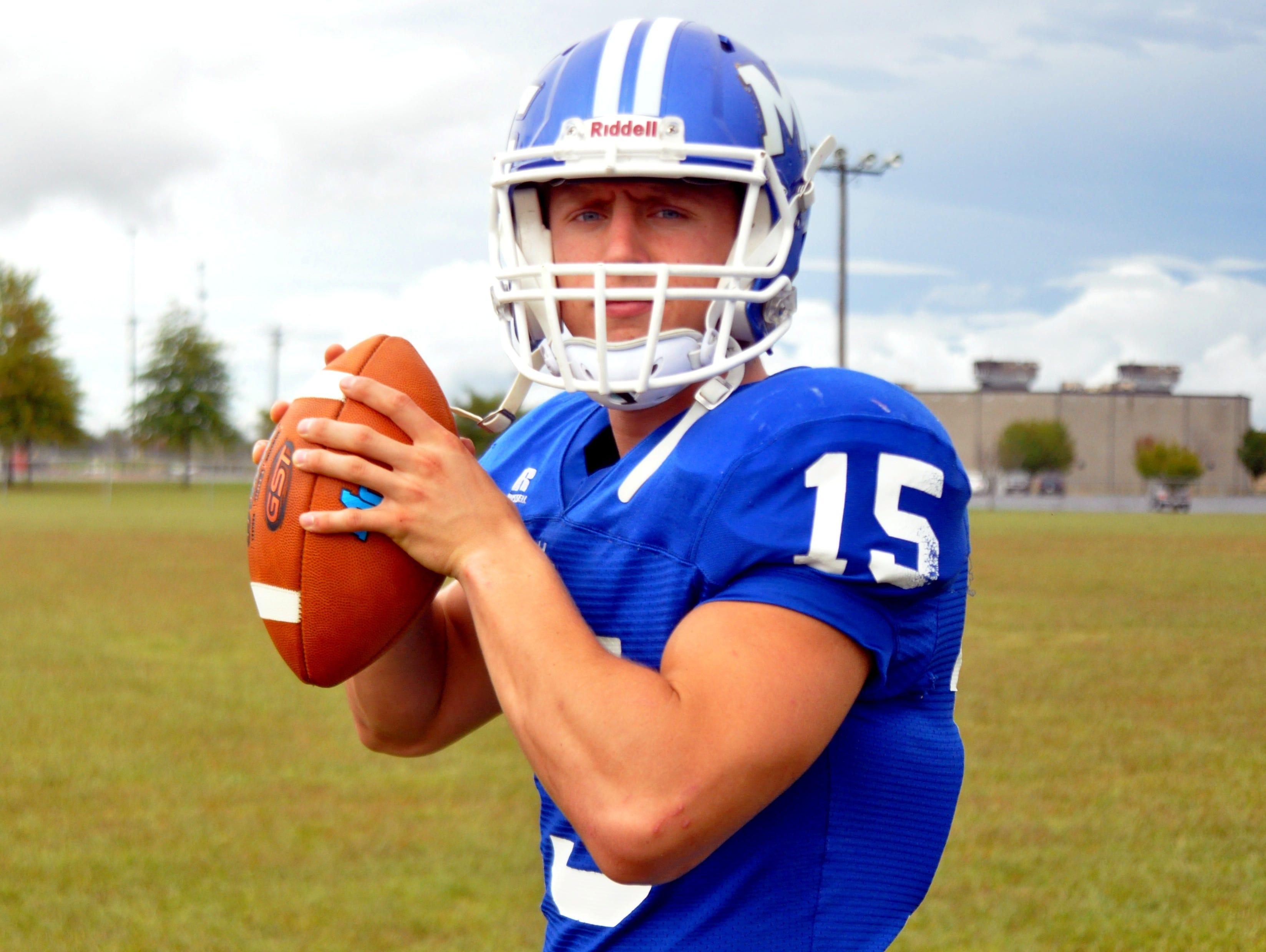 Macon County sophomore Seth Carlisle