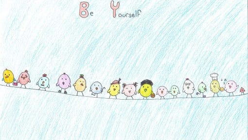 "This poster by Alison Haag won first place among Wisconsin students grades 3-5 in 2015. The ""My Feelings Matter"" contest was organized by the Children's Mental Health Matters Coalition."