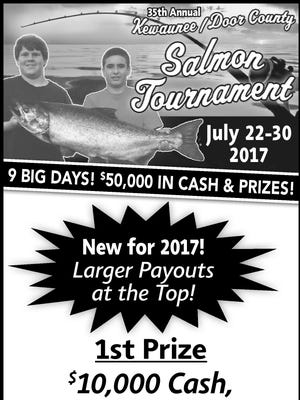 Salmon tournament ad
