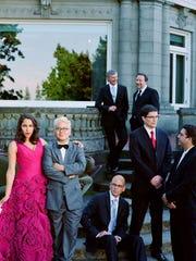 Pink Martini, seen here in an undated photograph from the group's management.
