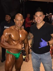 Kevin Leon Guerrero competed in the 2017 Shawn Ray