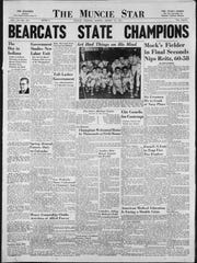 The Muncie Bearcats defeated Evansville Reitz to take the 1951 state championship, 60-58. Muncie Central won the next year, too, beating Indianapolis Tech.