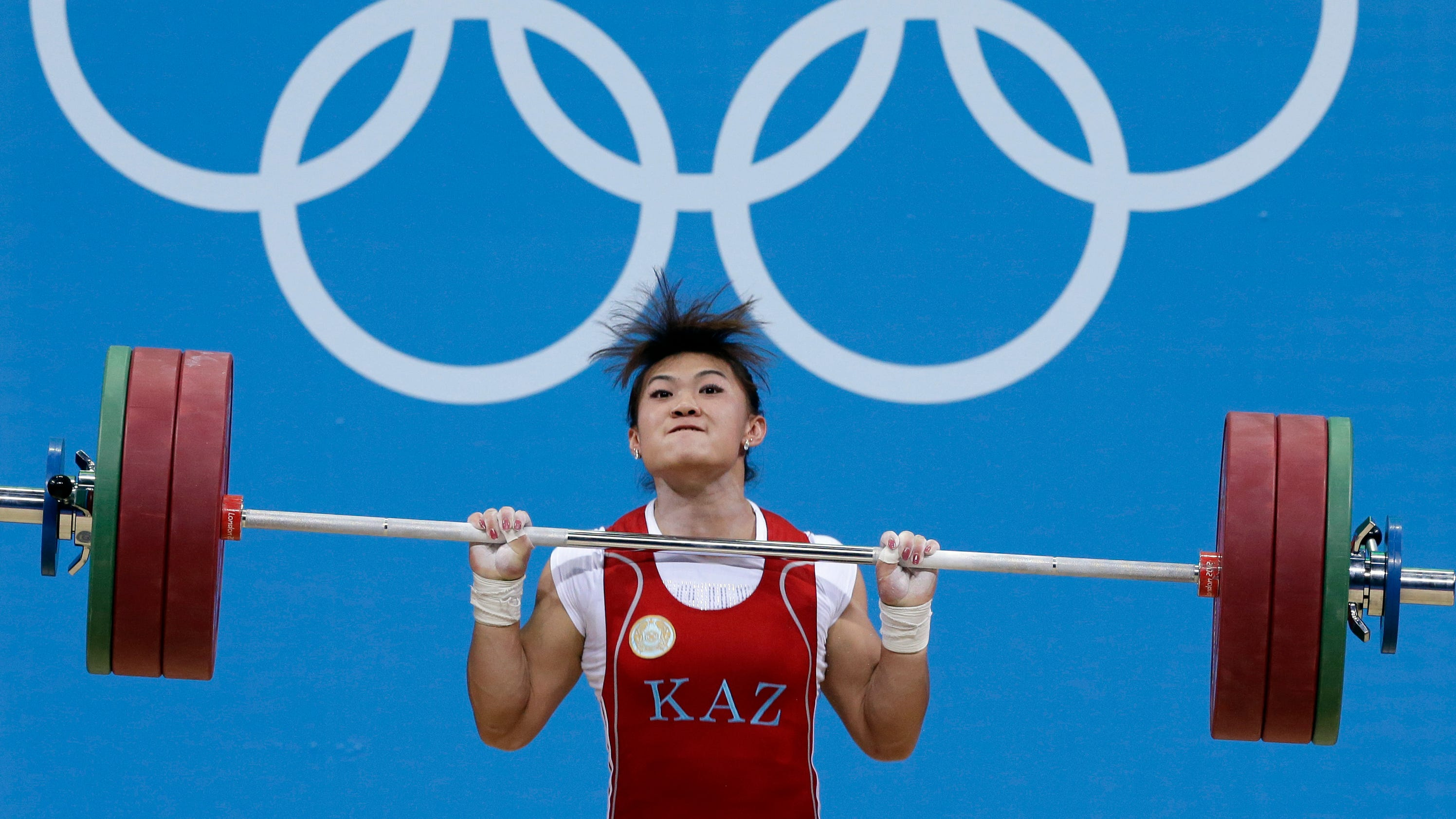 3 weightlifters stripped of Olympic golds in doping cases