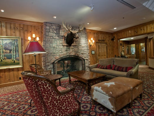 Spring may be on its way, and what better way to bid winter adieu than a final cozy weekend in the mountains? These gorgeous lodges have plenty of rustic charm. Wort Hotel, Jackson Hole, Wyo.: Originally opened in 1941, the historic Wort Hotel (it's listed on the National Register of Historic Places) is a cozy ski lodge in downtown Jackson within walking distance of numerous shops and bars. The 59 large rooms embrace the Western theme that's standard in this area (with cowboy paintings and Western-style comforters) without being overly kitschy, and the on-site restaurant is a popular destination. The Silver Dollar Bar, built in 1950, gets its name from the bar covered in 2,032 uncirculated Morgan Silver Dollars from the Denver mint.