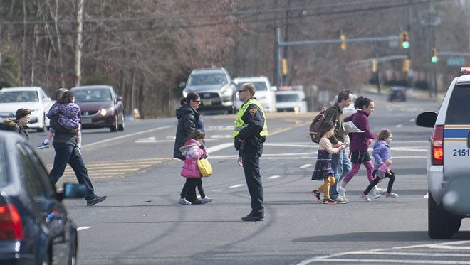 Children were among those evacuated following a threat at Katz Jewish Community Center in Cherry Hill.