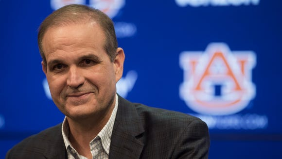 Auburn introduced Kevin Steele as its new defensive