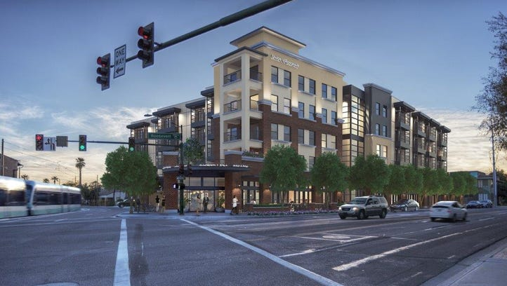 A rendering of the Union @ Roosevelt project.