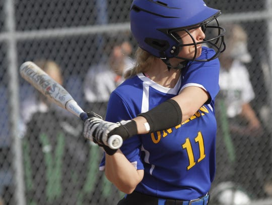 Ontario's Emilee Cochran is one of the top returning players for the Lady Warriors in 2019.