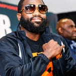 Adrien Broner is set to defend his title in late January.