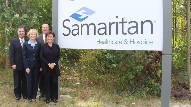 Sign represents the future home of Samaritan Center at Voorhees