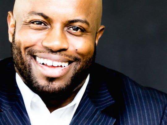 Justin Jones-Fosu, a professional public speaker, says