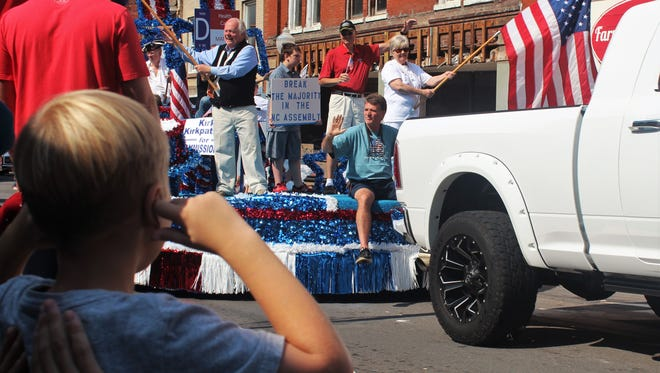 Scenes from the 111th annual Canton Labor Day Parade, Sept. 4, 2017.