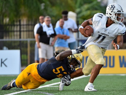 High School Football: St. John Bosco at St. Thomas Aquinas