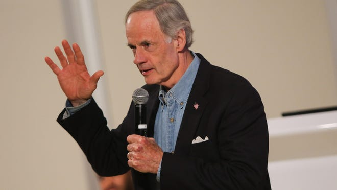 Tom Carper is the ranking member of the Senate Homeland Security and Governmental Affairs Committee, which is investigating the bird flu outbreak.