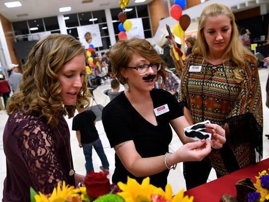 From left: Ashley Bressler, Sidney Bates and Jennifer