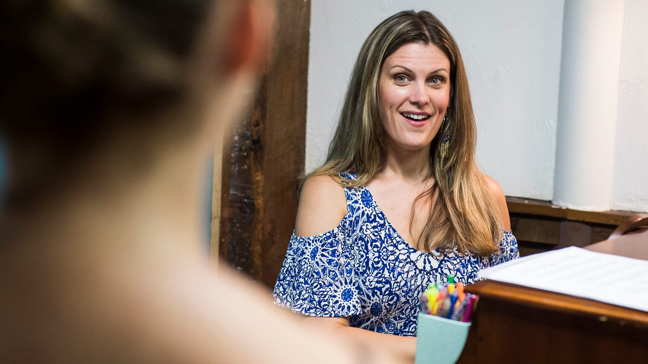 Courtney Ross has performed at the Metropolitan Opera and overseas, but still finds time to support the arts in Hanover. She performed at Emmanuel United Church of Christ on July 16.
