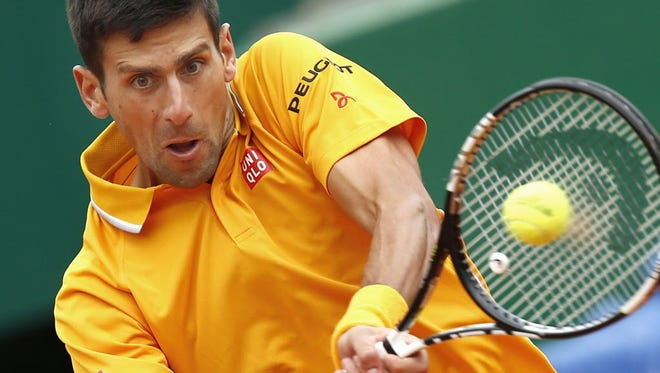 Novak Djokovic of Serbia withdrew from the Madrid Open.